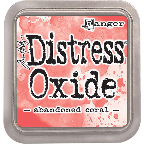 Ranger, Tim Holtz Distress Oxides Ink Pad - Abandoned Coral, Scrapify, Australia