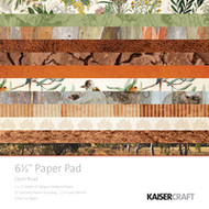 "Kaisercraft  Paper Pad 6.5""x6.5"",  Open Road, PP1034, Scrapify, Australia"