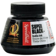 Speedball India Ink, Black 2oz, Scrapify, Australia