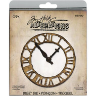 "Sizzix Bigz Die By Tim Holtz 5.5""X6"" Weathered Clock, Scrapify, Australia"