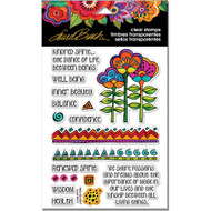 Stampendous Laurel Burch Cling Stamp, Kindred Borders, Scrapify, Australia