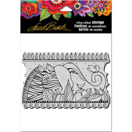 Stampendous Laurel Burch Cling Stamp, Rainbow Safari, Scrapify, Australia