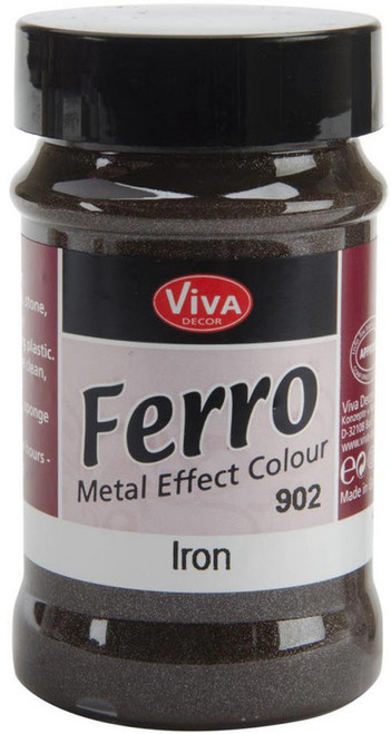 Viva Decor, Ferro (Metal Effect Colour), 90ml Eisen (Iron), Scrapify, Australia