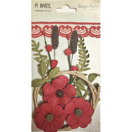 49 and Market, Flowers, Cottage Blooms – Poppy, Scrapify, Australia