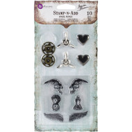 Prima Marketing, Ingvild Bolme - Stamp-n-Add: Angel Wings, (10 Pieces) , Scrapify, Australia
