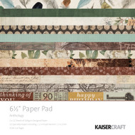 "Kaisercraft  Paper Pad 6.5""x6.5"",  Anthology, PP1045, Scrapify, Australia"