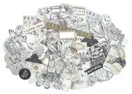 Kaisercraft  Collectables, Die Cut Shapes, over 40 pcs, Pen & Ink,  CT934,  Scrapify, Australia