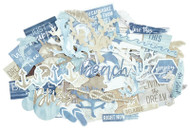 Kaisercraft  Collectables, Die Cut Shapes, over 40 pcs, Beach Shack,  CT930,  Scrapify, Australia