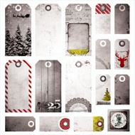 7 Dot Studio, Yuletide - Tags 12 x 12, asst sizes, Scrapify, Australia