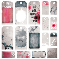 7 Dot Studio, Home Grown, Homegrown - Tags 12 x 12, asst sizes, Scrapify, Australia