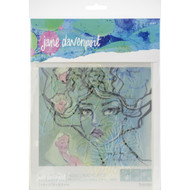 Spellbinders, Artomology, Jane Davenport Stencils, Flower Girl  (3pc), Scrapify, Australia