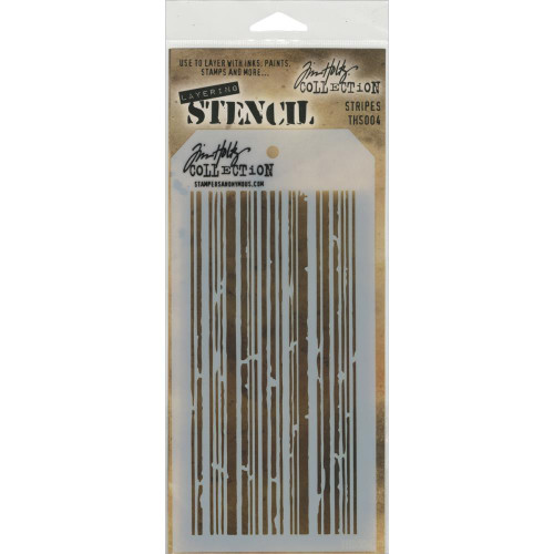 Tim Holtz Stampers Anonymous - Layering Stencils - Stripes (THS004), Scrapify, Australia