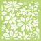 Kaisercraft, Designer Template, 6 x 6in, Poinsettia, IT475, Scrapify, Australia