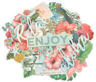 Kaisercraft  Collectables, Die Cut Shapes, over 40 pcs, Paradise Found, CT955,  CT951,  Scrapify, Australia