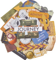 Kaisercraft  Collectables, Die Cut Shapes, over 40 pcs, Journey, CT964,  Scrapify, Australia