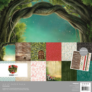 "Kaisercraft  Paper Pack 12""x12"" + Bonus Sticker Sheet,  Enchanted, PK608, Scrapify, Australia"