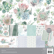 "Kaisercraft  Paper Pack 12""x12"" + Bonus Sticker Sheet,  Greenhouse, PK601, Scrapify, Australia"