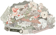 Kaisercraft  Collectables, Die Cut Shapes, over 40 pcs, Rosabella, CT954,  Scrapify, Australia