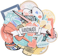 Kaisercraft  Collectables, Die Cut Shapes, over 38 pcs, Crafternoon, CT972,  Scrapify, Australia