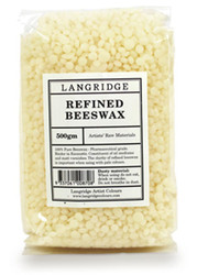 Langridge, Refined BeesWax, 500gm, Scrapify, Australia