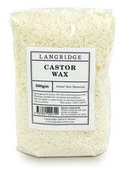 Langridge, Castor Wax, 500gm, Scrapify, Australia