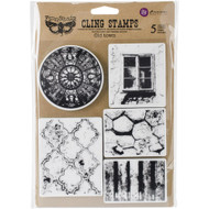 "Finnabair Cling Stamp - Old Town 6""x7.5"" at Scrapify, Australia"