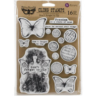 "Finnabair Cling Stamp - Don't Forget To Fly 6""x7.5"", Scrapify, Australia"