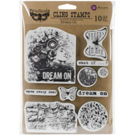 "Finnabair Cling Stamp - Dream On 6""x7.5"", Scrapify, Australia"