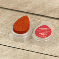 Card Deco Essentials, Fast-Drying Pigment Ink, Pearlescent, Golden Red, Scrapify, Australia