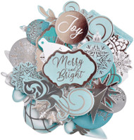 Kaisercraft  Collectables, Die Cut Shapes, over 38 pcs, Let It Snow, CT968,  Scrapify, Australia