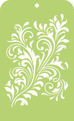Kaisercraft, Mini Designer Template, 6 x 3.5in, Fancy Flourish, IT036, Scrapify, Australia