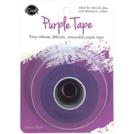 "iCraft Removable Purple Tape 1.5""X15yd Roll, Scrapify, Australia"