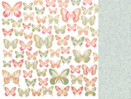 """Kaisercraft  Specialty Paper, 12""""x12"""",  With Love, Foil, All My Love, P2756, Scrapify, Australia"""