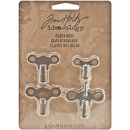 Tim Holtz Idea-ology - Clock Keys (4 Pack), Scrapify, Australia