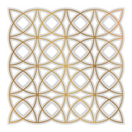 COUTURE CREATIONS, GoPress and Foil,  Hotfoil, Cut, Foil and Emboss, Woven Circles, 98 x 98 mm, Scrapify, Australia