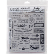 Tim Holtz Stampers Anonymous - Correspondence - Cling Rubber Stamp Set, Scrapify, Australia