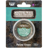 Prima Finnabair Art Alchemy, Matte Wax  .68 fl oz, 20 ml, Patina Green, Scrapify, Australia