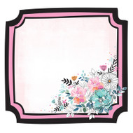 Kaisercraft  Specialty Paper, Blessed, Floral Frame, PS551, Scrapify, Australia