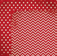 "Bo Bunny  Pattern Paper, 12""x12"",  Double Dot Designs, Wild Berry Chevron, Scrapify, Australia"
