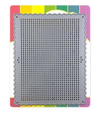 Waffle Flower, Steel Craft Die, Stitchable Pinking Rectangle, 310412, Scrapify, Australia