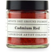 Langridge Dry Ground Pigment 120ml - Cadmium Red, Scrapify, Australia