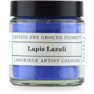 Langridge Dry Ground Pigment 25ml - Lapis Lazuli, Scrapify, Australia