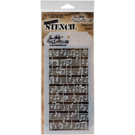 Tim Holtz Stampers Anonymous - Layering Stencils - Concerto (THS067), Scrapify, Australia