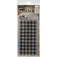 Tim Holtz Stampers Anonymous - Layering Stencils - Gingham (THS134), Scrapify, Australia
