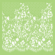 Kaisercraft, Designer Template, 6 x 6in, Lace, IT488, Scrapify, Australia
