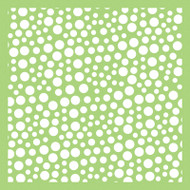Kaisercraft, Designer Template, 6 x 6in, Bubbles, IT498, Scrapify, Australia