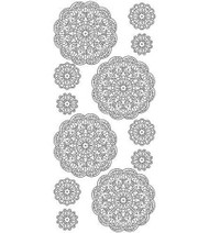 Couture Creations, Peel Offs,  Gold Stickers, Doily, AD23290, Scrapify, AustraliaCouture Creations, Peel Offs,  Gold Stickers, Doily, AD23290, Scrapify, Australia
