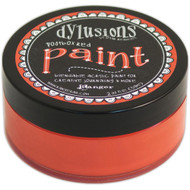 Dylusions Paint 2oz - Postbox Red, Scrapify, Australia