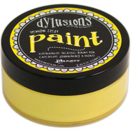 Dylusions Paint 2oz - Lemon Zest, Scrapify, Australia