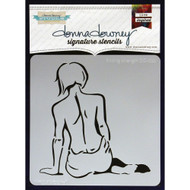Donna Downey Signature Series Stencils - Finding Strength, DD022, Scrapify, Australia